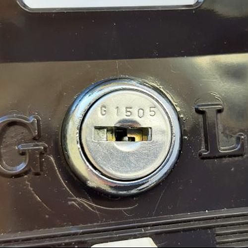 Keys cut from the Garran Lockface